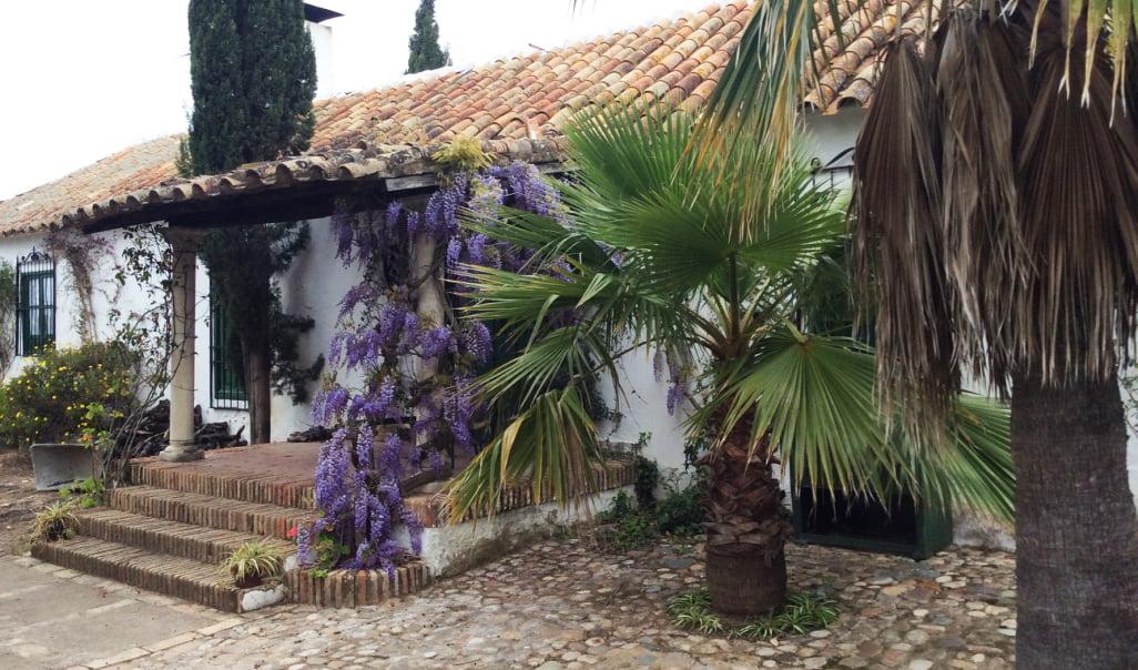 Paisajismo en casa rural en Córdoba