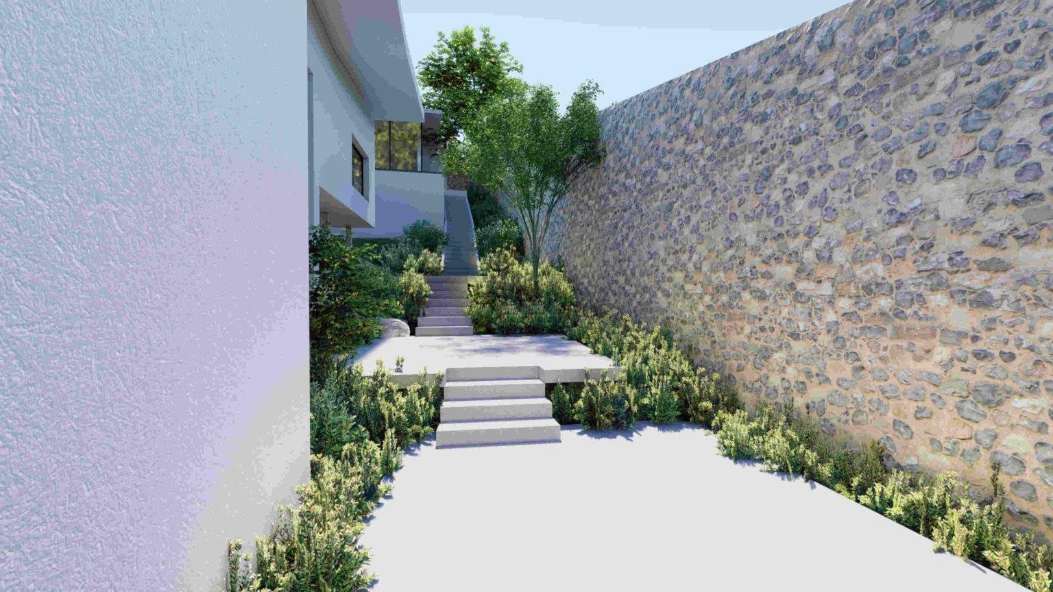 Imágenes de proyecto de paisajismo en Navacerrada